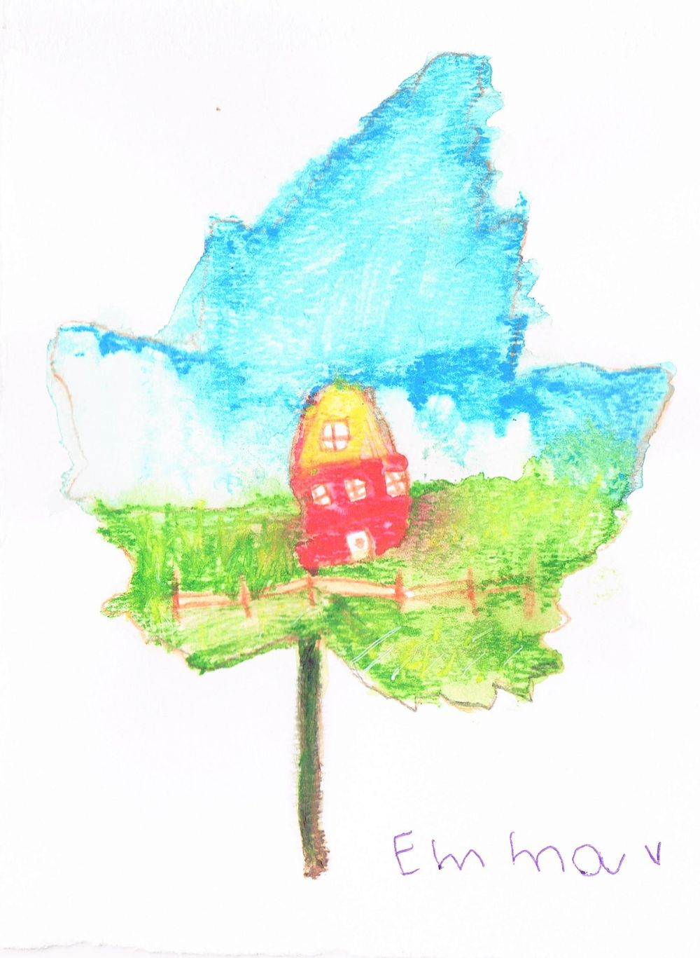 Kids leaves - image 2 - student project