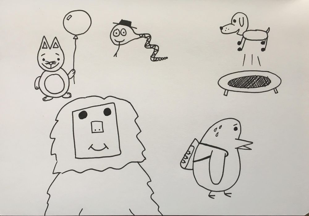 Animals / Joy / Teacup / Podcast - image 2 - student project