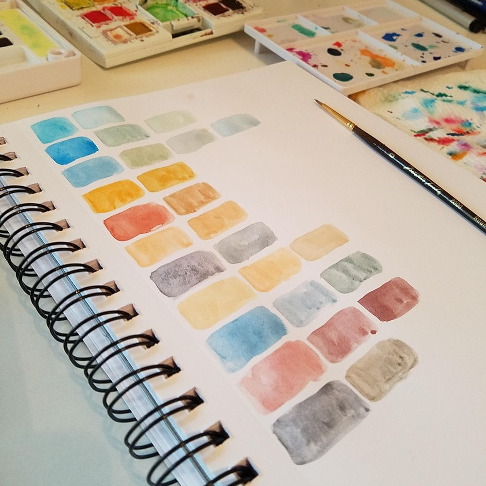 My Oasis Color Palette  - image 2 - student project