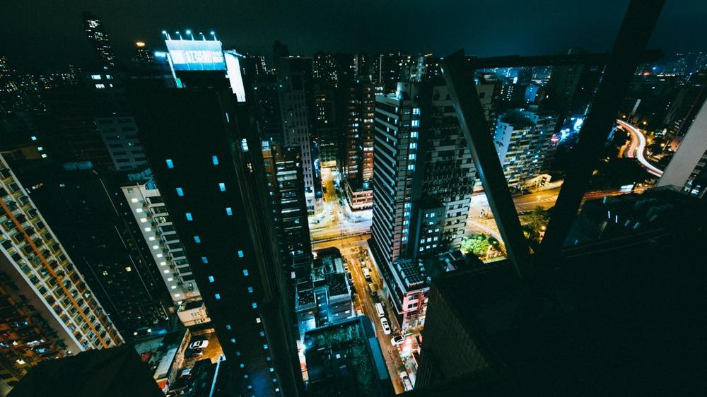 Hong Kong by night - image 5 - student project