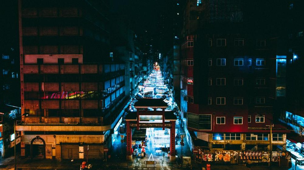 Hong Kong by night - image 4 - student project