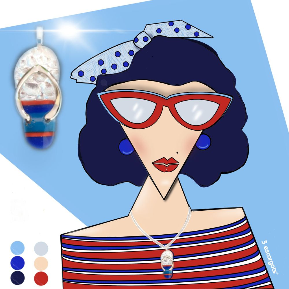 4th of July Beach Babe - image 2 - student project