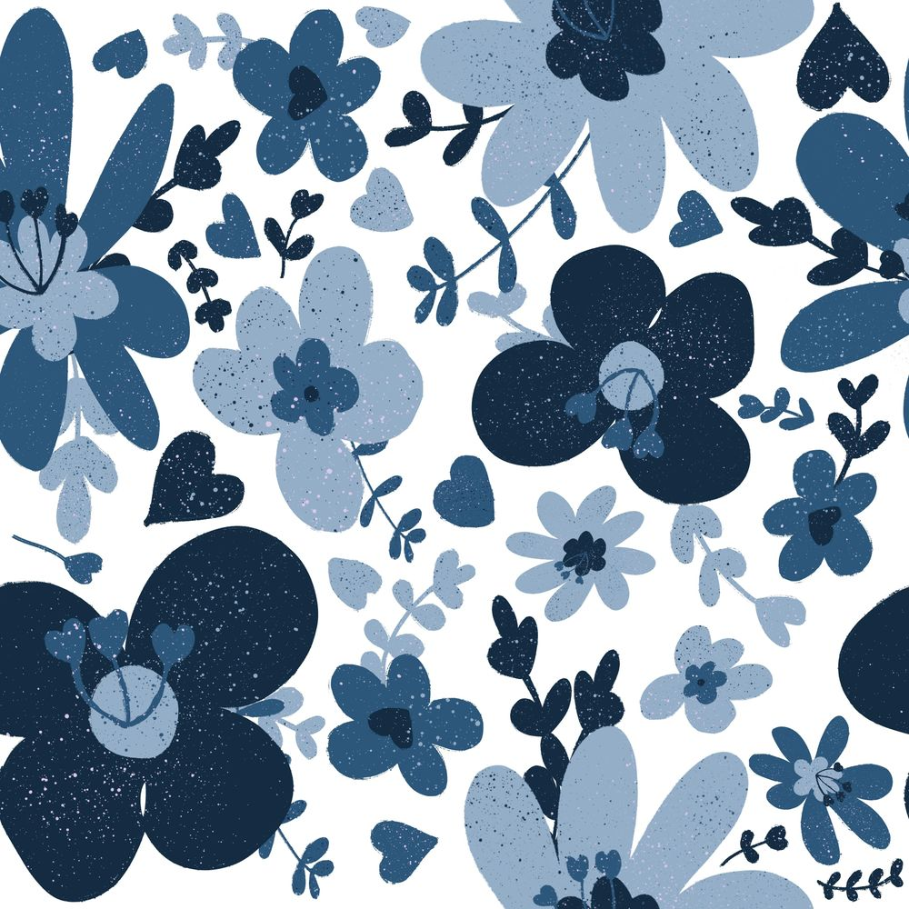 Retro Flowers - image 2 - student project