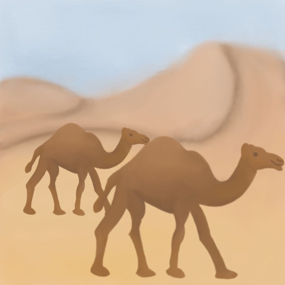 Camel, Upside Drawing, Toucan, Aardvark Prompt - image 1 - student project