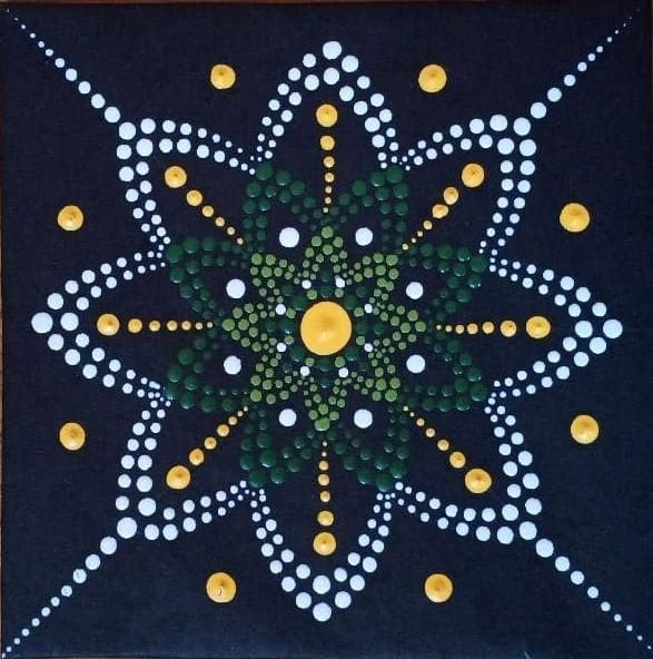 My Mini Dot Mandala - image 1 - student project