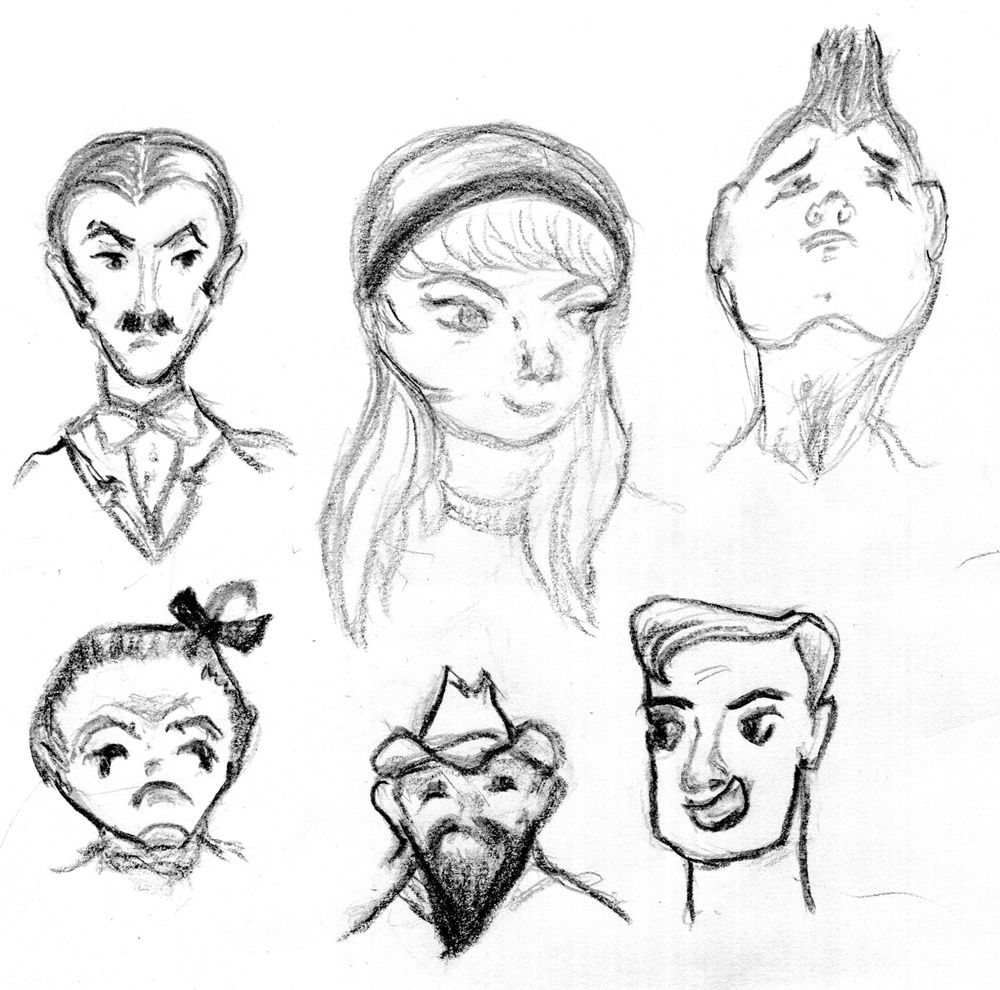 Face Shapes - image 1 - student project