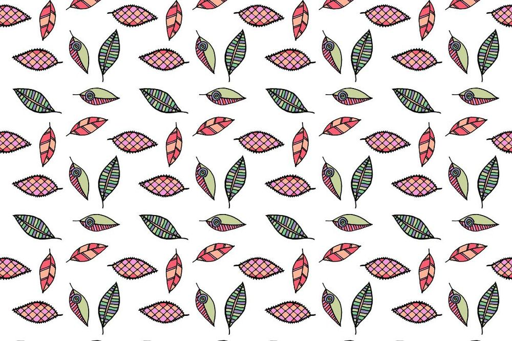 Color ways for the leaves pattern - image 1 - student project