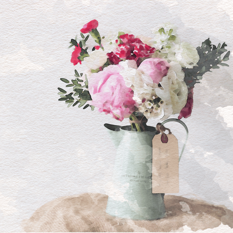Flowers in Vase - image 2 - student project