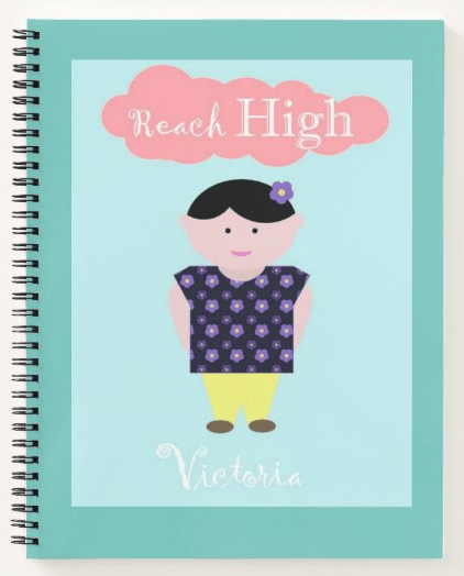 Reach High Notebook - image 1 - student project