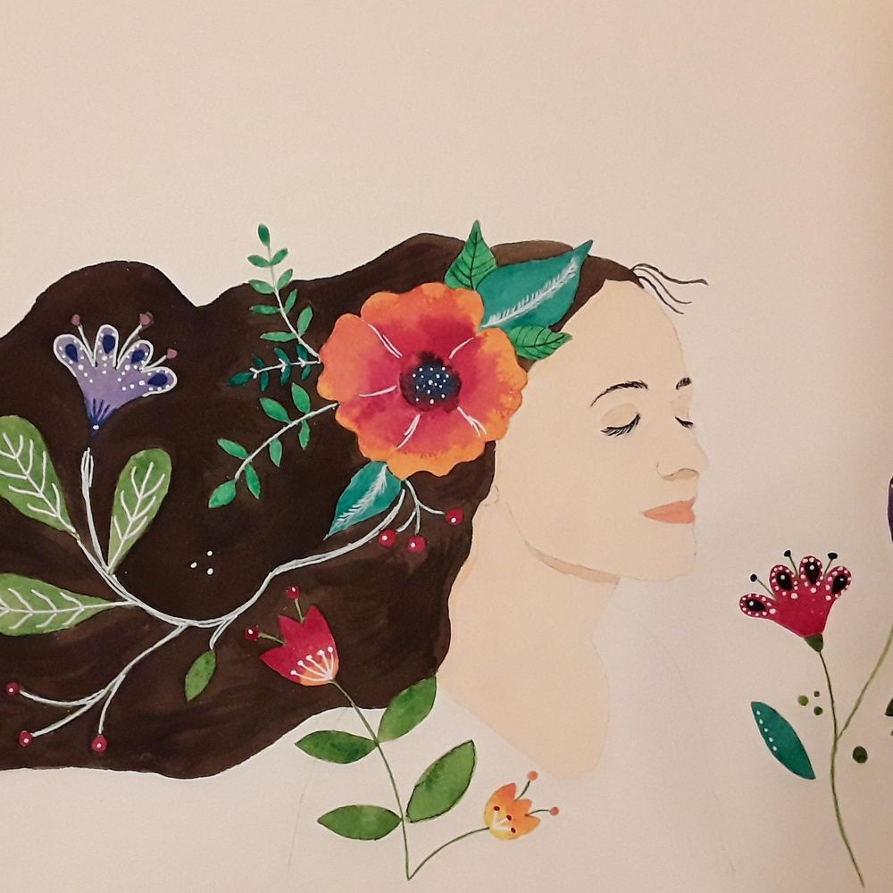 Whimsical self portrait - image 2 - student project