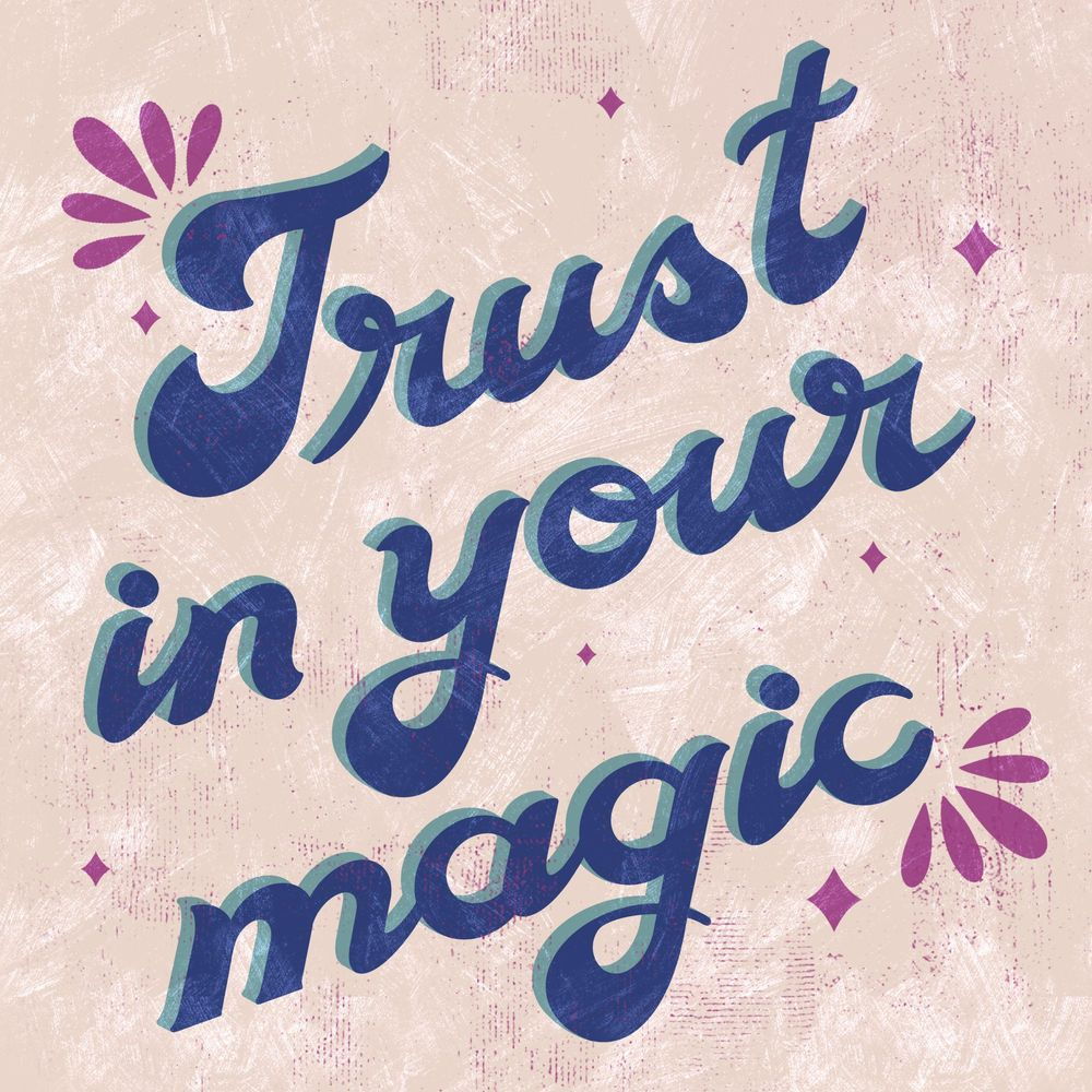 Trust in your magic - image 1 - student project