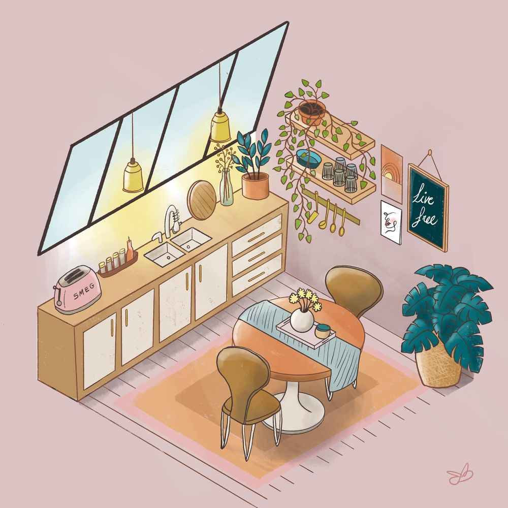 Loft kitchen - image 1 - student project