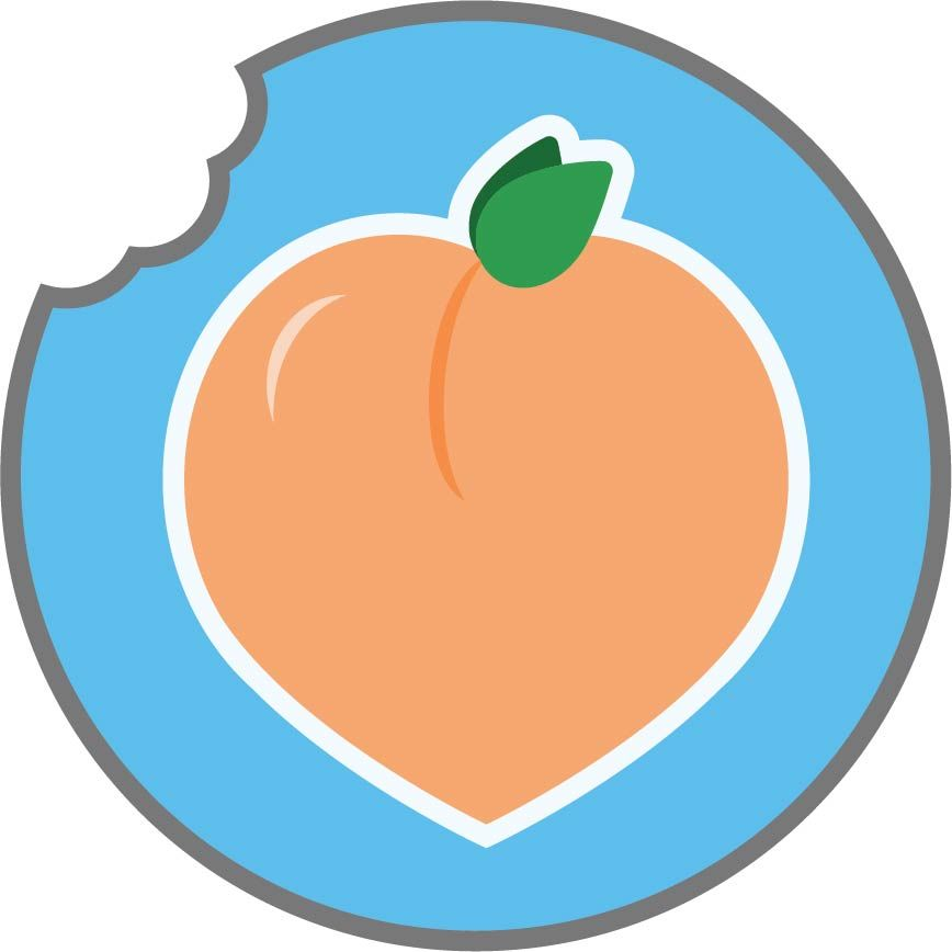Peach Logo - image 1 - student project