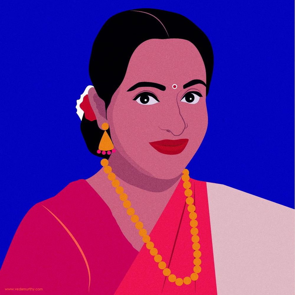 Self-Portrait in Saree - image 1 - student project