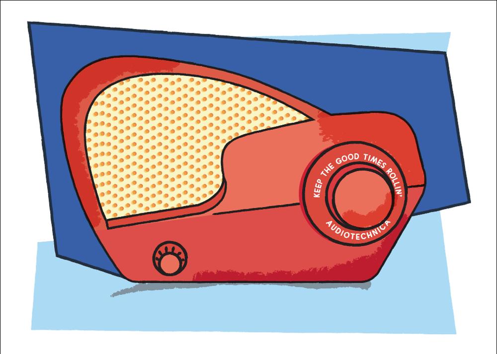 Philco Boomerang Radio - image 3 - student project