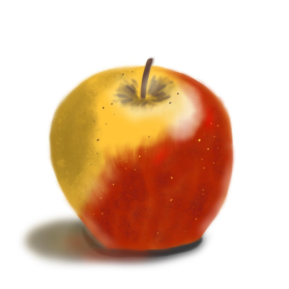 My first apple - image 1 - student project