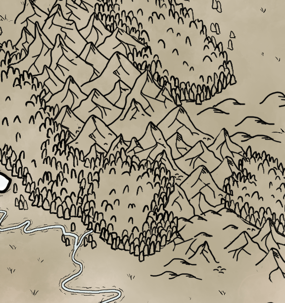 Map of Temaria (II) - image 1 - student project