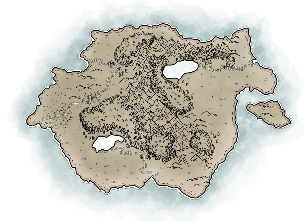 Map of Temaria (II) - image 2 - student project