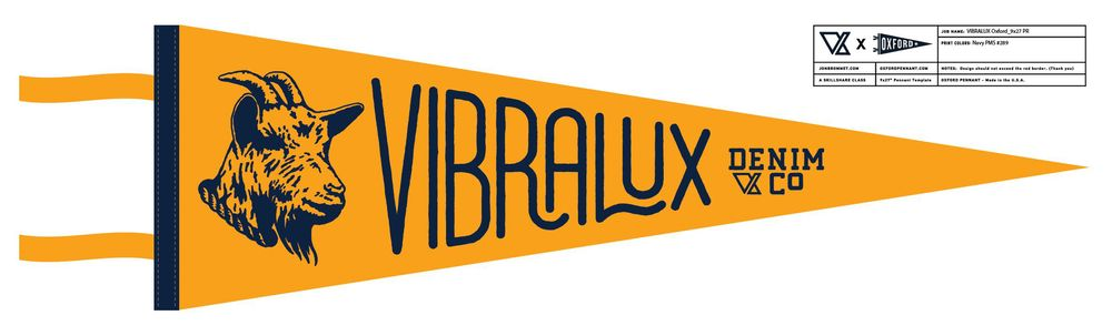 Vibralux G.O.A.T. Pennant - image 9 - student project