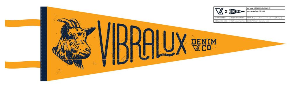 Vibralux G.O.A.T. Pennant - image 10 - student project