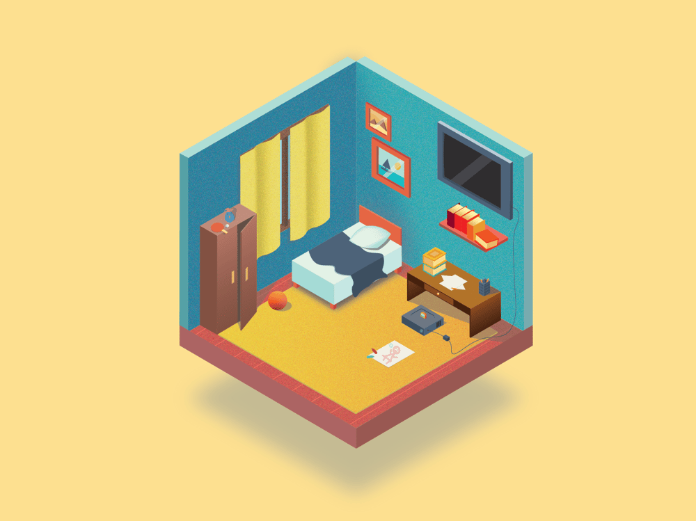 My Room - image 1 - student project