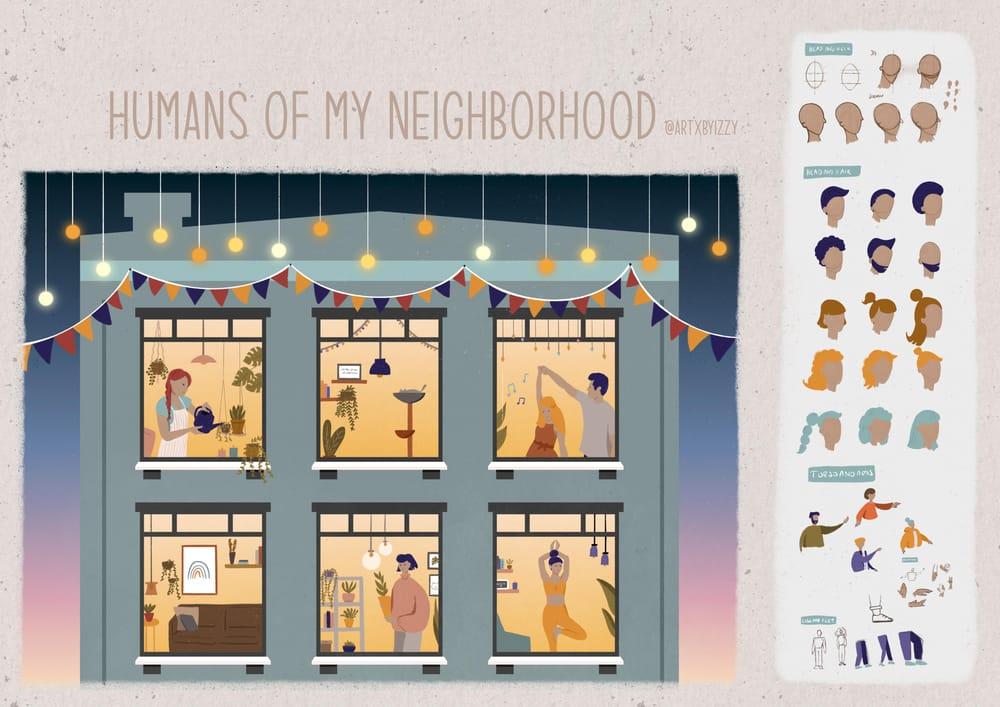 Humans of my neighborhood - image 1 - student project