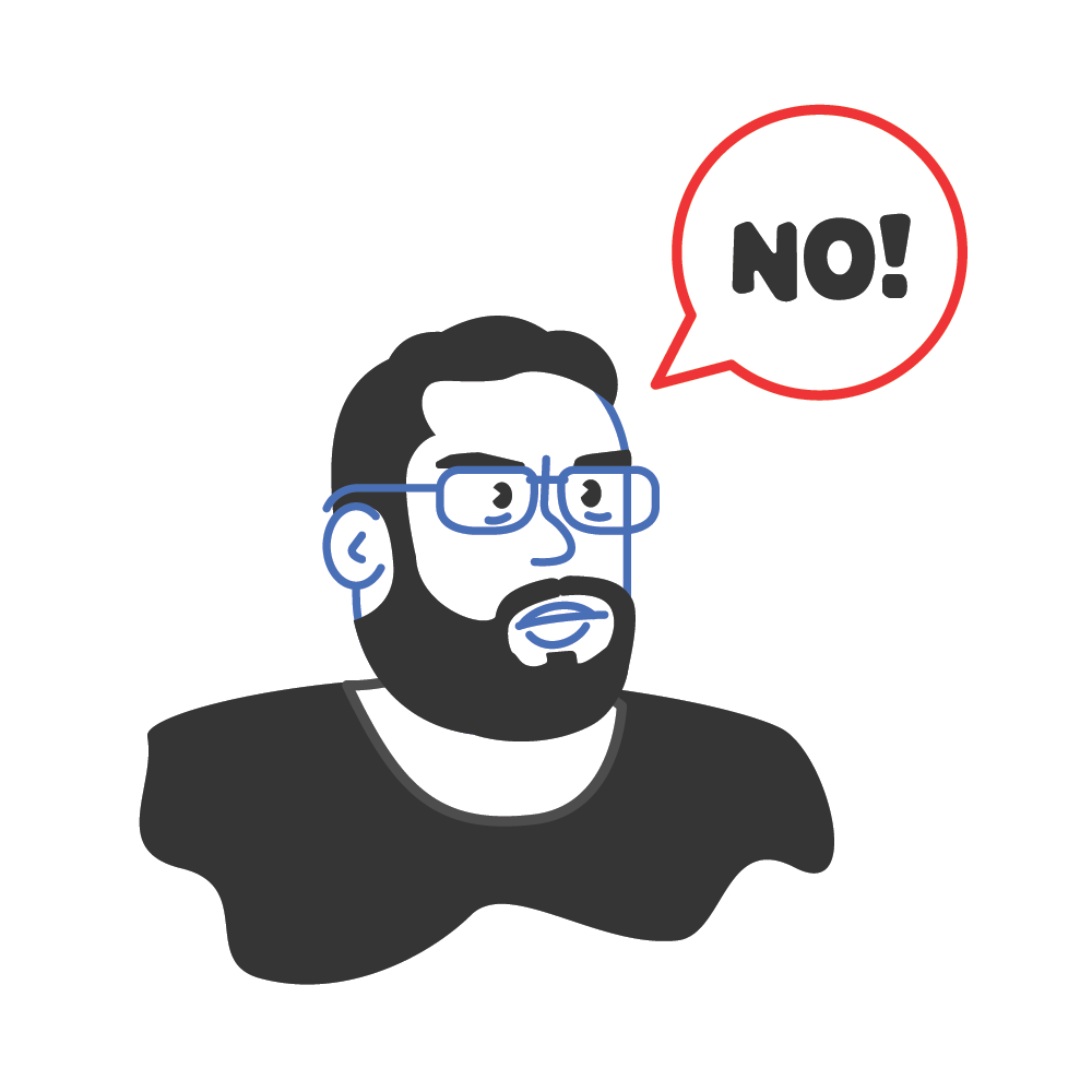 How about No? - image 1 - student project
