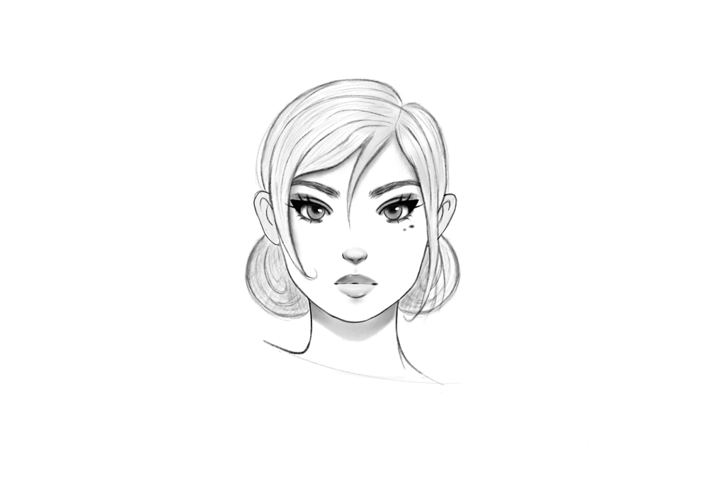 Female (and one guy) characters - image 2 - student project