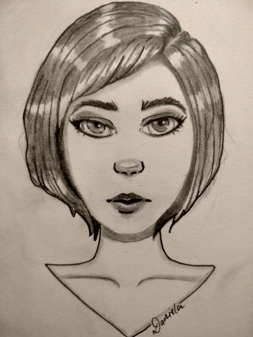 My first female character design course ever followed - image 8 - student project