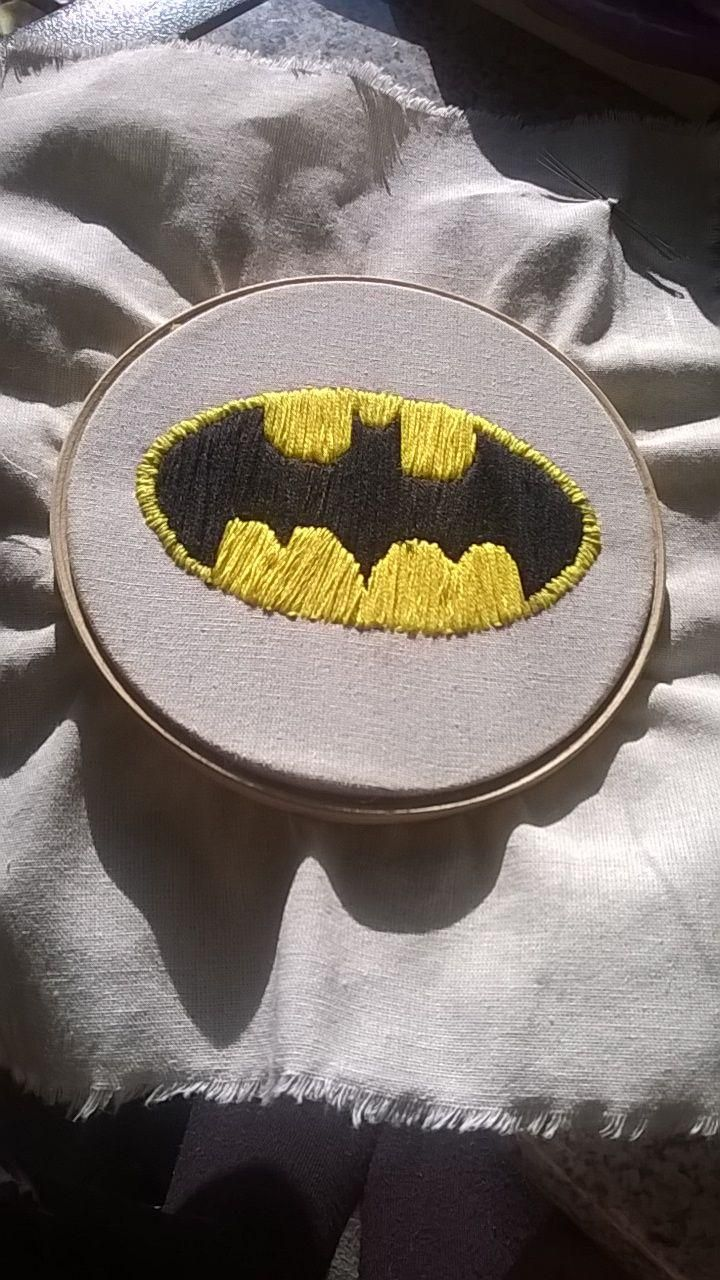 Batman Embroidery - image 3 - student project