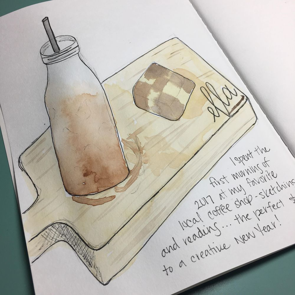 Coffee and Cold Brew Sketch - image 2 - student project