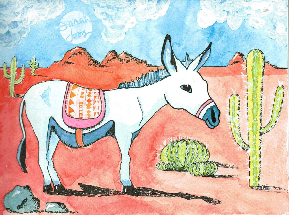 Donkey - image 1 - student project
