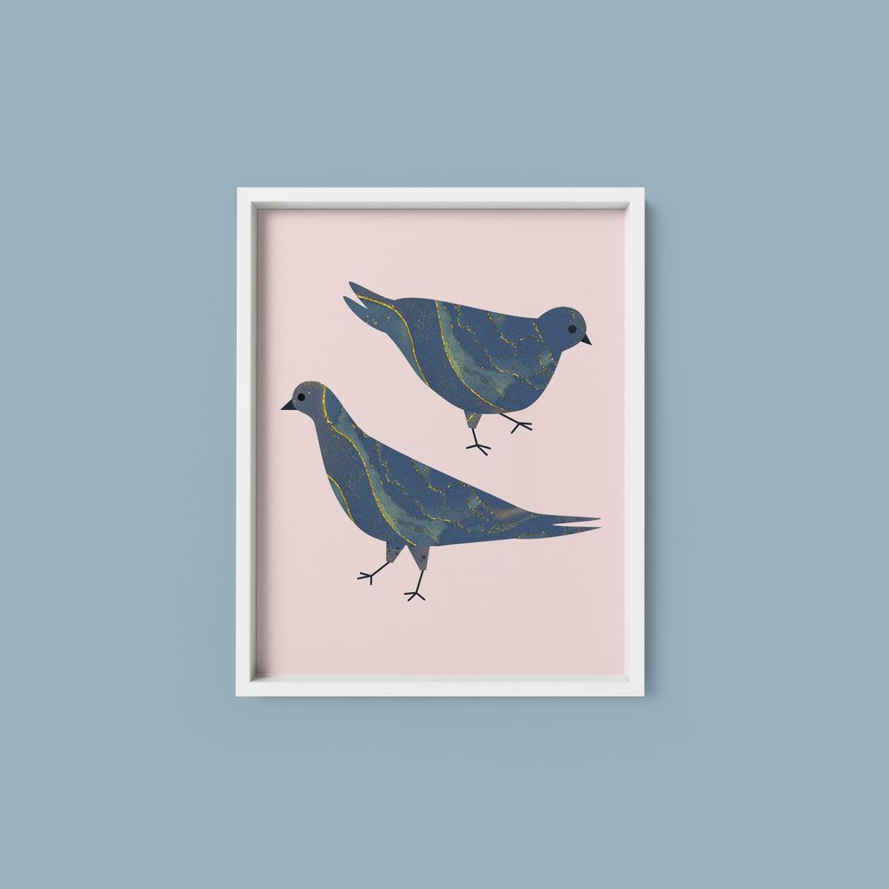 Marbled Pigeons - image 1 - student project