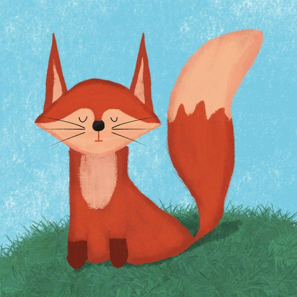 My little sleeping fox - image 1 - student project