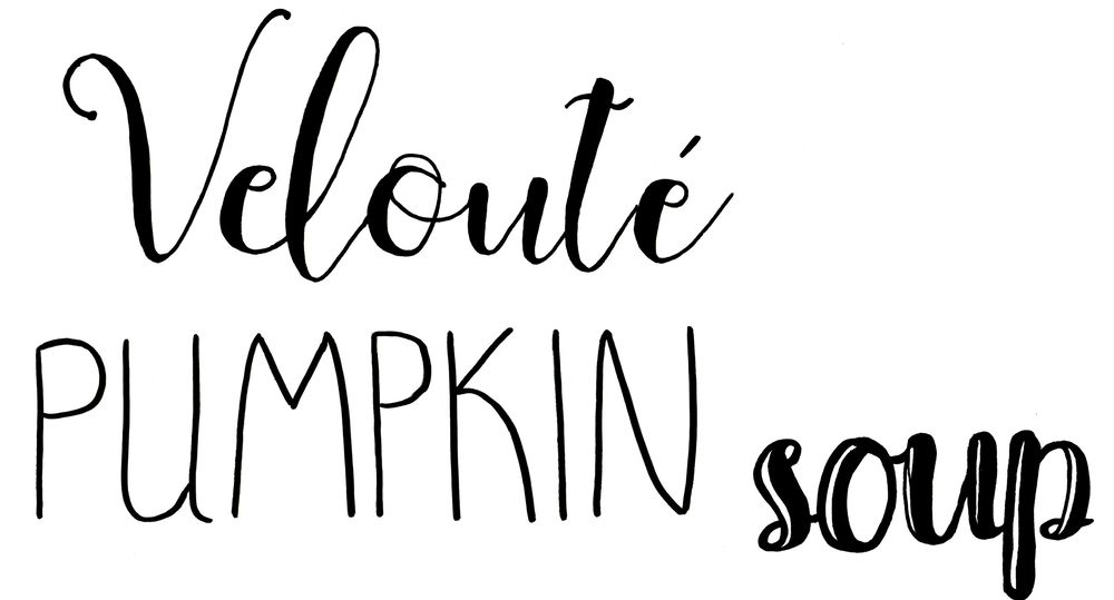 Veloute Pumpkin Soup - image 3 - student project