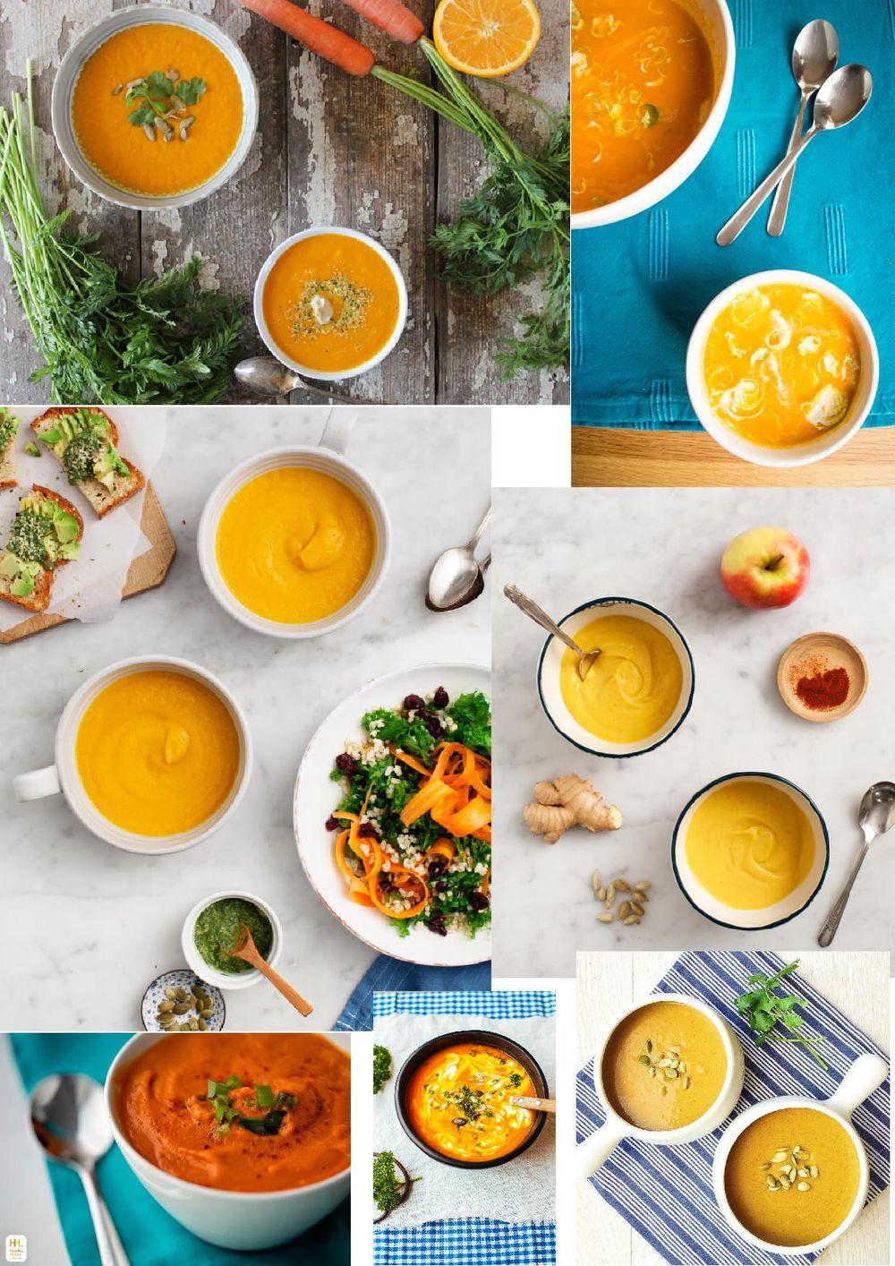 Veloute Pumpkin Soup - image 2 - student project