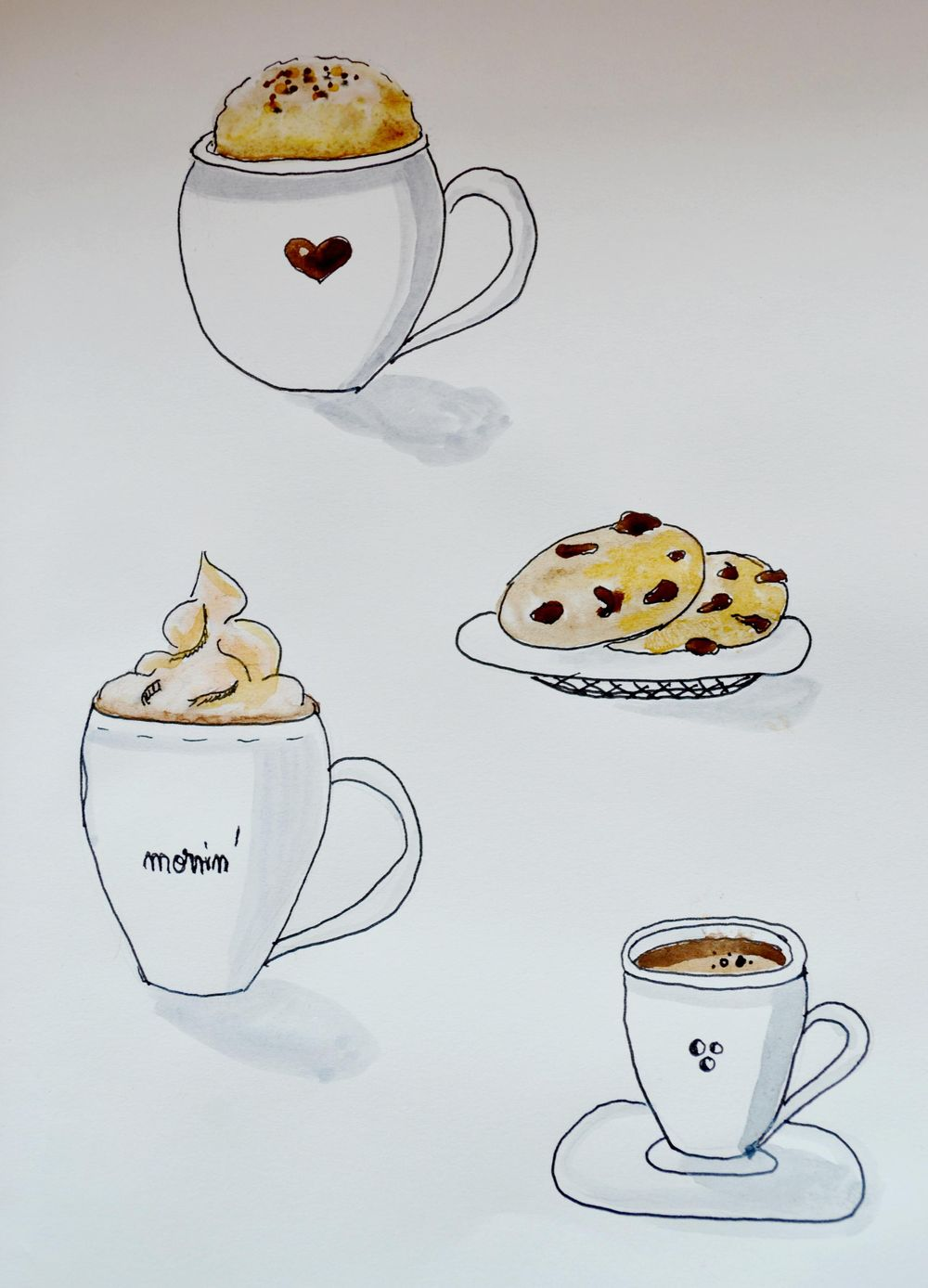 Coffee cups - image 1 - student project
