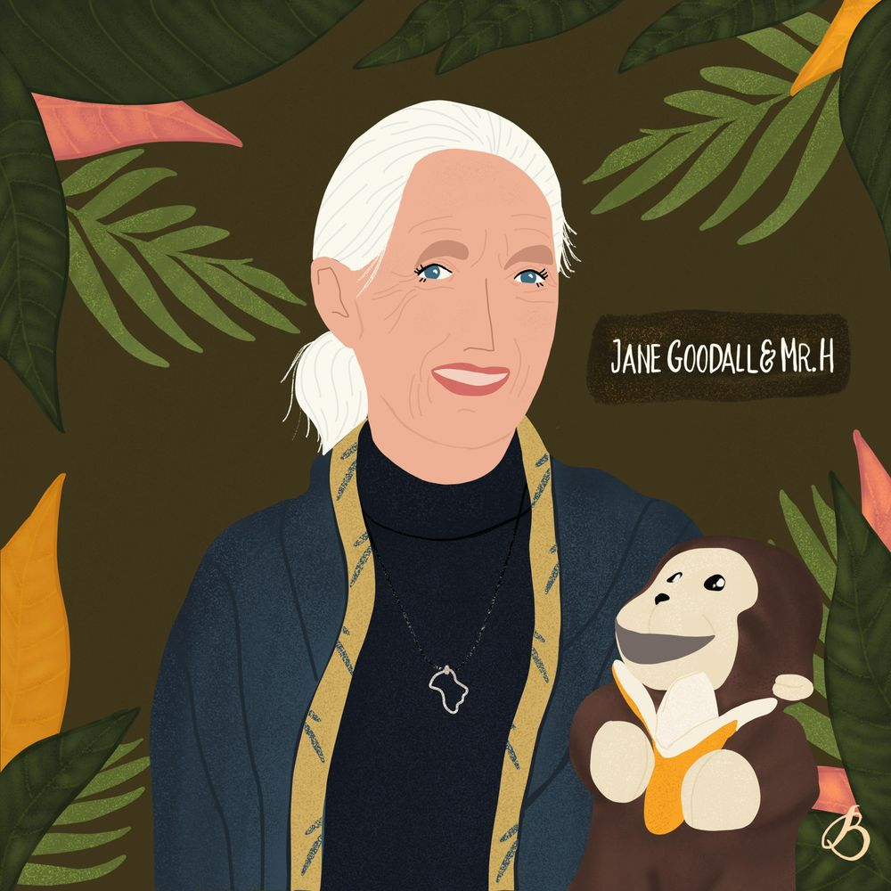 Jane Goodall & Mr. H - image 1 - student project