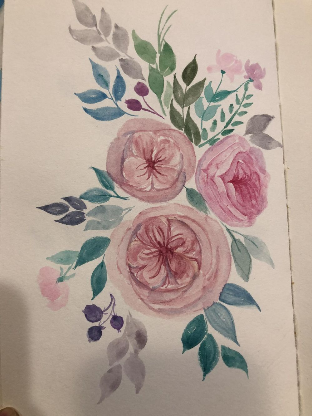English rose - image 1 - student project