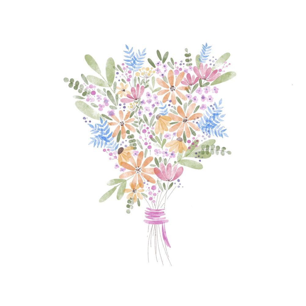 in the meantime...a bouquet for you. - image 1 - student project