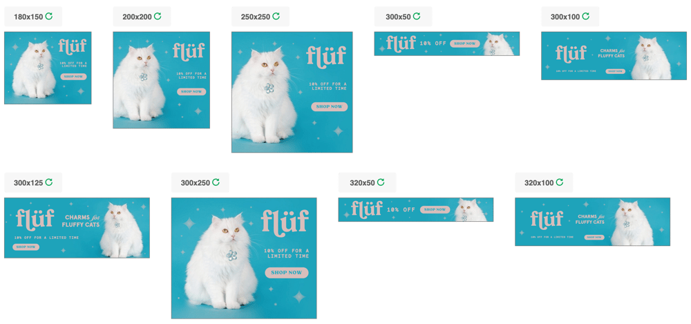 Flüf Digital Ad Campaign - image 3 - student project