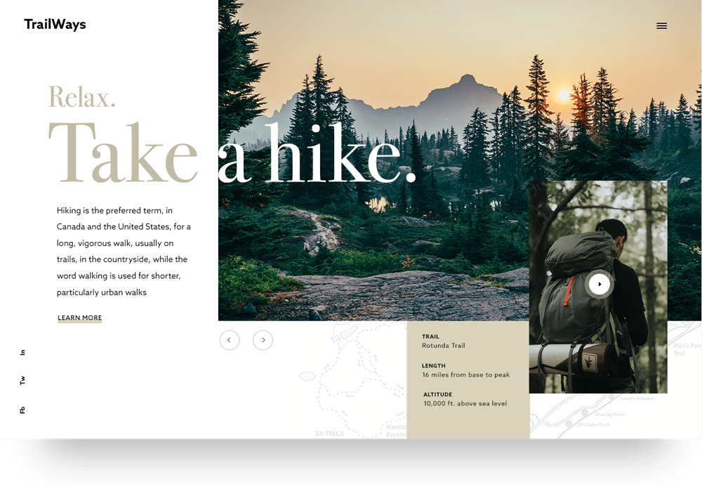Take a hike - image 1 - student project