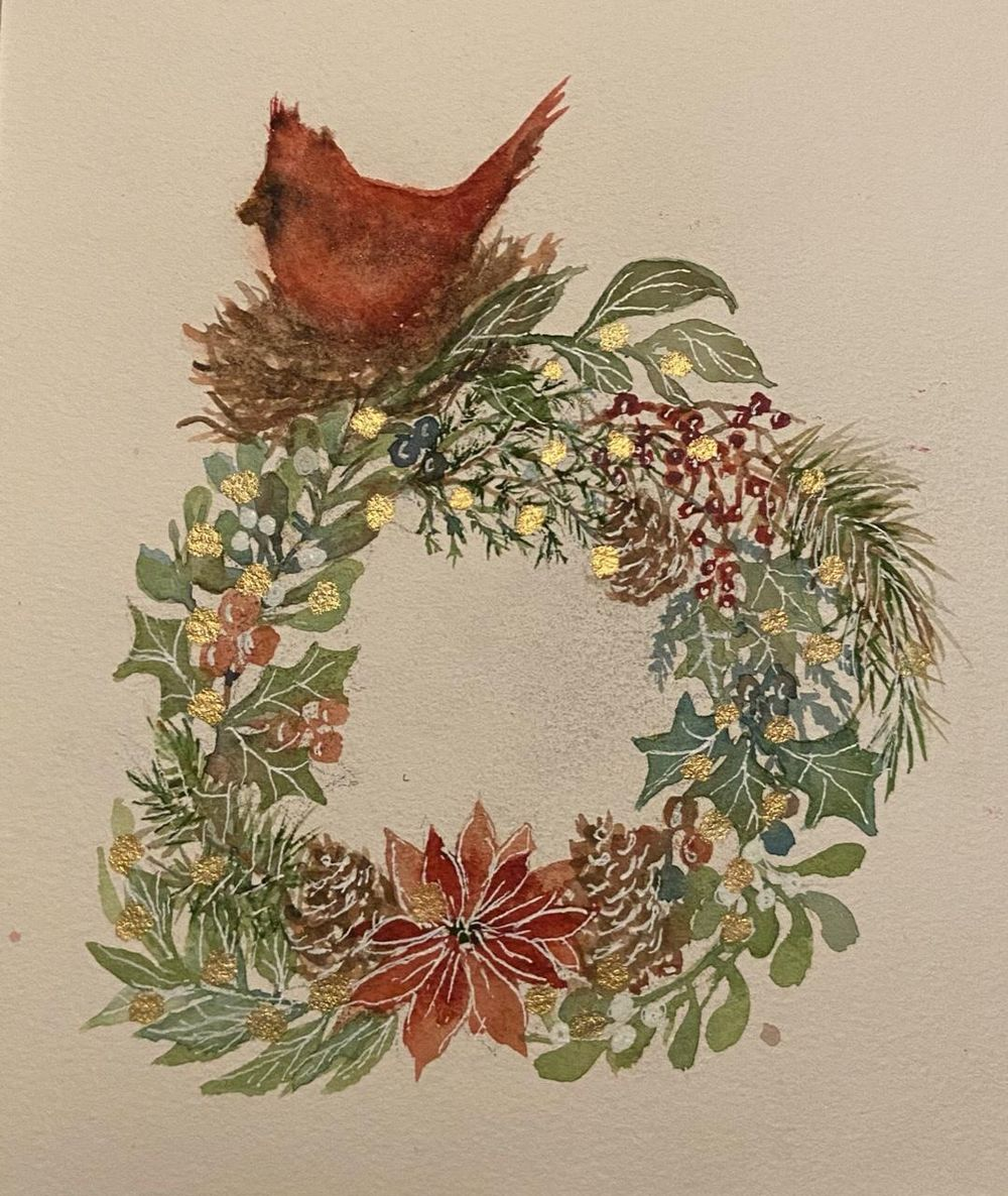 Wreath - image 1 - student project