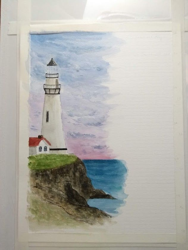 Lighthouse - image 1 - student project