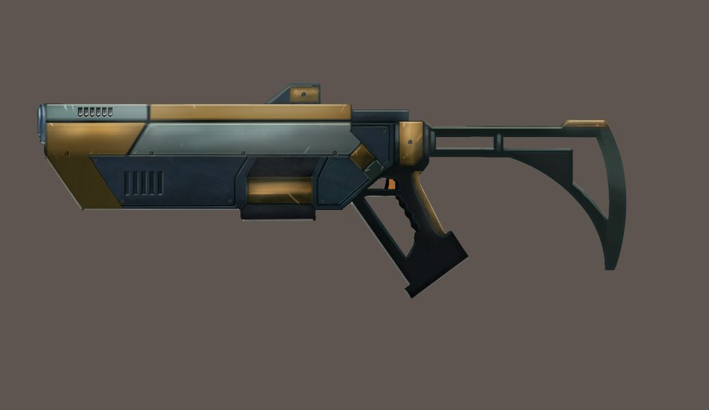 Pulse Rifle - image 1 - student project