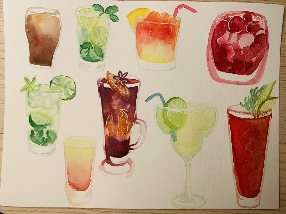 Cocktails - image 1 - student project