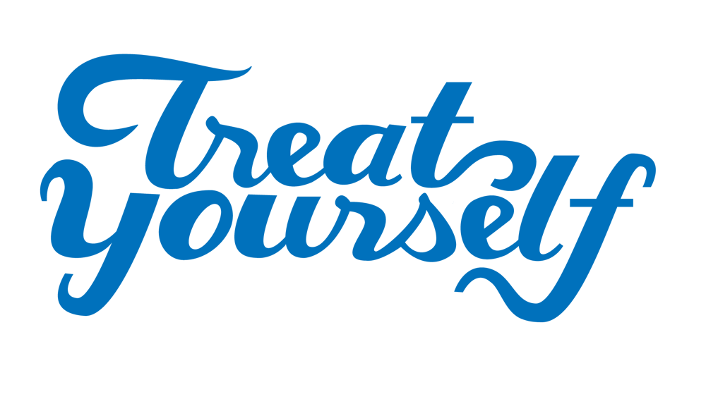 Treat Yourself Lettering - image 5 - student project