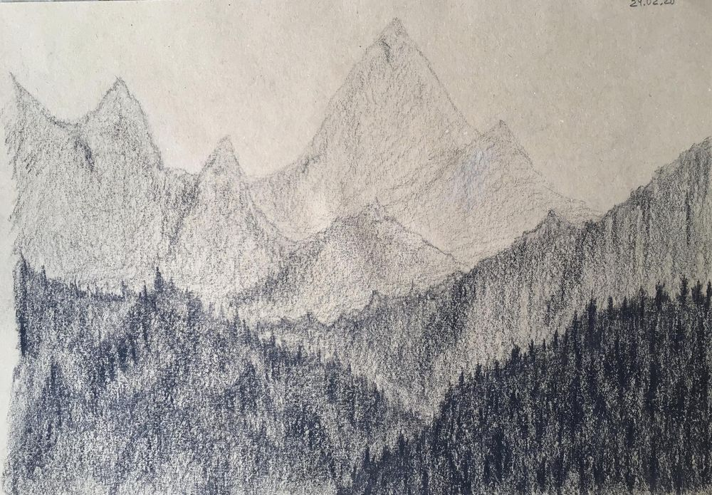 Dynamic mark making/Atmospherics - image 1 - student project