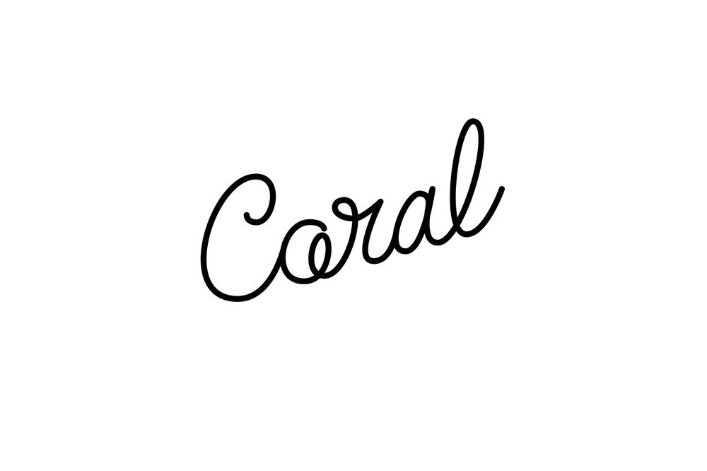 Animated Lettering - Coral - image 3 - student project