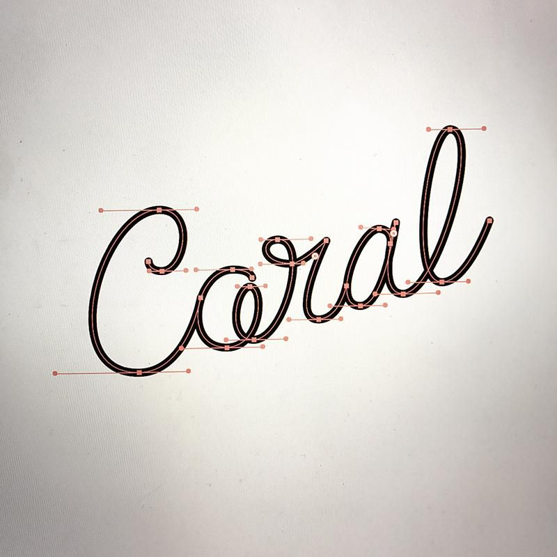 Animated Lettering - Coral - image 4 - student project